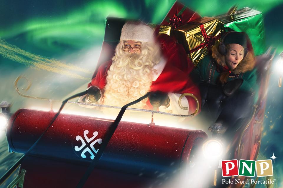 app Babbo Natale slitta